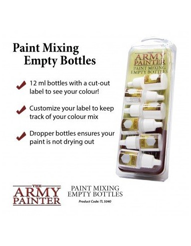Army Painter - Paint Mixing Empty...