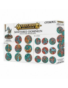 Shattered Dominion: socles...