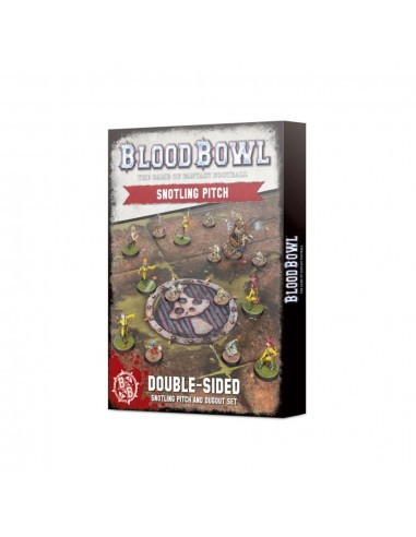 BLOOD BOWL Snotling Pitch and Dugout Set