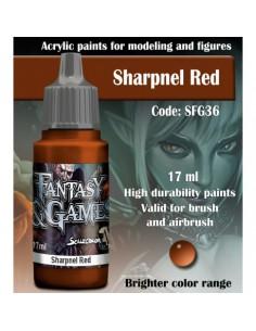 SHARPNEL RED