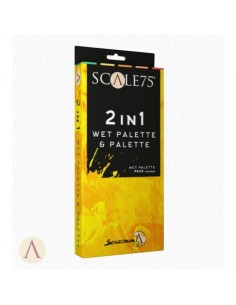 2 in 1 Palette Humide &...