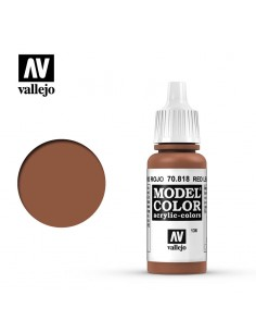 MODELCOLOR 70.818 Red Leather