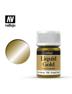 Liquid Gold 70 795 Or vert...